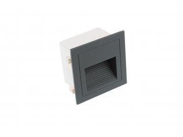 T-LED vestavné svítidlo LOPEN-G-IP65 šedé
