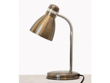 NIPEKO Stolní lampa Fanda tmavá patina