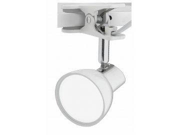 NIPEKO nastavitelná LED lampička s klipem bílá