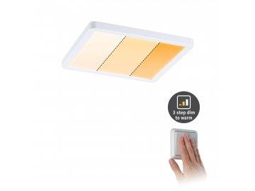 LED vestavné svítidlo Areo VariFit IP44 hranaté 175x175mm 13W bílá mat WarmDim 3-krokové-stmívatelné - PAULMANN