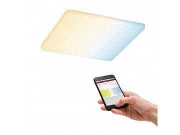 LED vestavné svítidlo Veluna VariFit Zigbee měnitelná bílá 185x185mm IP44 15W - PAULMANN