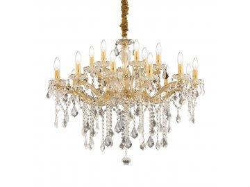 IDEAL LUX 075181 lustr FLORIAN SP18 Oro 18x40W E14