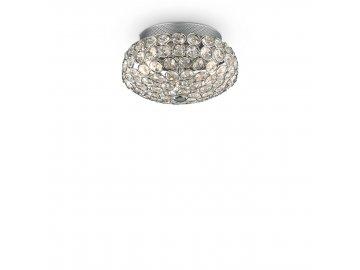 IDEAL LUX 075389 svítidlo King PL3 Cromo 3x40W G9
