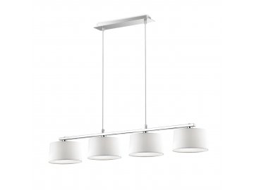 IDEAL LUX 075495 závěsné svítidlo Hilton SB4 4x40W G9