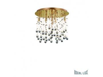 IDEAL LUX 080932 svítidlo Moonlight PL8 Oro 8x40W G9
