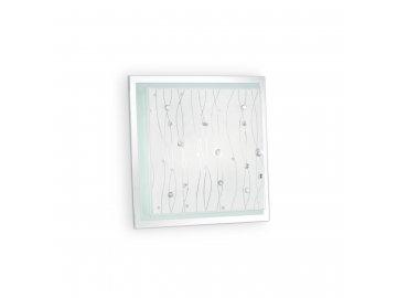 IDEAL LUX 081434 svítidlo Ocean PL2 Bianco 2x60W E27