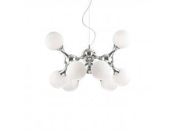 IDEAL LUX 082059 závěsné svítidlo Nodi Bianco SP9 9x40W E14