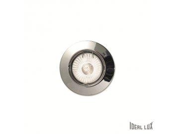 IDEAL LUX 083070 vestavné svítidlo Jazz FI1 Cromo 1x50W GU10