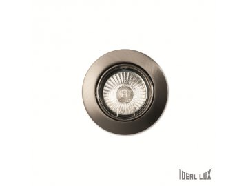 IDEAL LUX 083148 vestavné svítidlo Swing FI1 Nickel 1x50W GU10