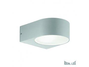 IDEAL LUX 092218 venkovní svítidlo Iko AP1 Grigio 1x60W E27 IP44