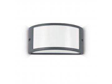 IDEAL LUX 092409 venkovní svítidlo Rex 1 AP1 Antracite 1x60W E27 IP44
