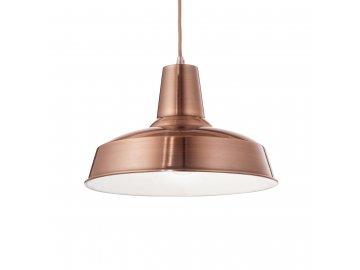 IDEAL LUX 093697 závěsné svítidlo Moby SP1 Rame 1x60W E27