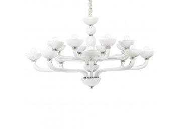 IDEAL LUX 094120 lustr Casanova SP16 Bianco 16x40W E14