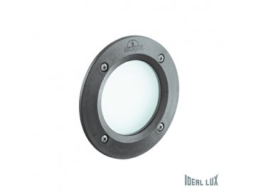 IDEAL LUX 096568 venkovní zápustné svítidlo Leti Round FI1 Grigio 1x3W GX53 IP66 3000K
