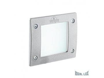 IDEAL LUX 096575 venkovní zápustné svítidlo Leti Square FI1 Bianco 1x3W GX53 IP66 3000K