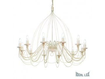 IDEAL LUX 097664 lustr Corte SP12 Bianco 12x40W E14