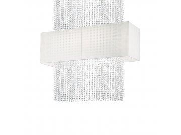 IDEAL LUX 099101 závěsné svítidlo Phoenix SP5 Bianco 5x60W E27