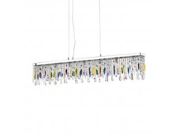 IDEAL LUX 099170 závěsné svítidlo Giada SB7 Color 7x40W G9