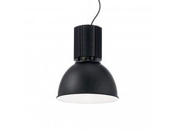 IDEAL LUX 100333 závěsné svítidlo Hangar SP1 Nero 1x60W E27