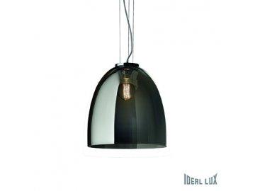 IDEAL LUX 101101 závěsné svítidlo Eva Small Fume 1x60W E27