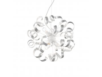 IDEAL LUX 101613 závěsné svítidlo Vortex SP6 Argento 6x40W E14