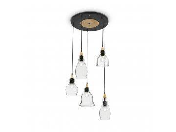 IDEAL LUX 103174 závěsné svítidlo Gretel SP5 5x60W E27