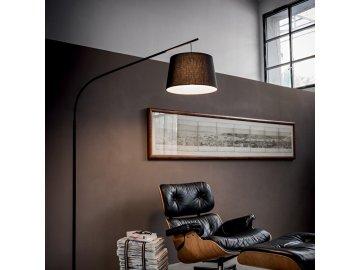 IDEAL LUX 110363 stojací lampa Daddy PT1 Nero 1x60W E27