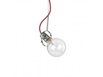 IDEAL LUX 113333 závěsné svítidlo Radio SP1 Cromo 1x60W E27