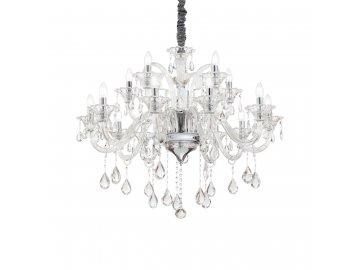 IDEAL LUX 114170 lustr Colossal SP15 Trasparente 15x40W E14