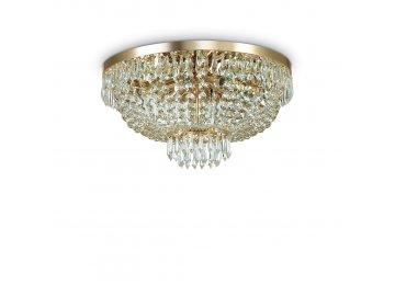 IDEAL LUX 114682 křišťálový lustr Caesar PL6 Oro 6x40W G9