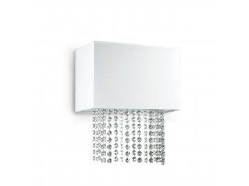 IDEAL LUX 115696 nástěnné svítidlo Phoenix AP2 Bianco 2x40W E14