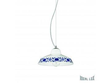IDEAL LUX 116167 závěsné svítidlo Bassano SP1 D20 1x40W E14