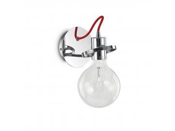 IDEAL LUX 119427 nástěnné svítidlo Radio AP1 Cromo 1x60W E27