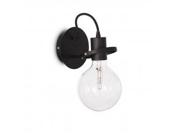 IDEAL LUX 119502 nástěnné svítidlo Radio AP1 Nero 1x60W E27