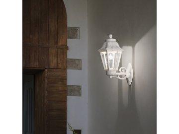 IDEAL LUX 120423 venkovní svítidlo Anna AP1 Big Bianco 1x60W E27 IP44