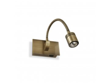 IDEAL LUX 121352 nástěnné LED svítidlo Dynamo AP1 Brunito 1x3W 3000K