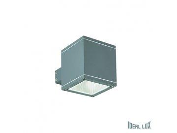 IDEAL LUX 121963 venkovní svítidlo Snif AP1 Square Antracite 1x40W G9 IP44