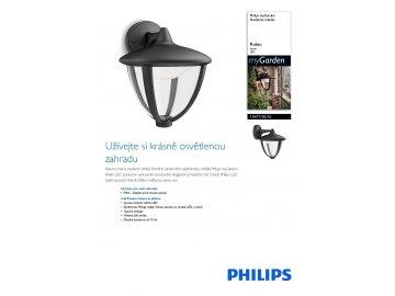 PHILIPS 15471/30/16 venkovní LED svítidlo Robin 1x4,5W IP44 2700K