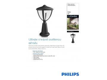 PHILIPS 15472/30/16 sloupkové LED svítidlo Robin 1x4,5W IP44 2700K
