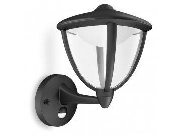 PHILIPS 15479/30/16 LED svítidlo s čidlem Robin 1x4,5W IP44 2700K
