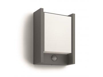 PHILIPS 16461/93/P3 venkovní LED svítidlo Arbour s čidlem 1x6W IP44 4000K
