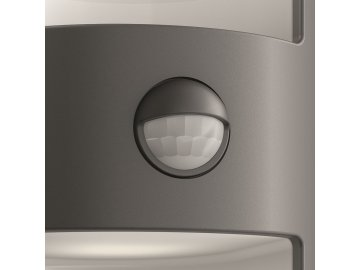 PHILIPS 17322/93/16 venkovní LED svítidlo s čidlem Grass 2x4,5W IP44 2700K