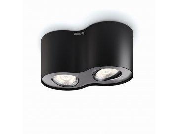 PHILIPS 53302/30/16 bodové stropní LED svítidlo Phase 2x4,5W 2700K