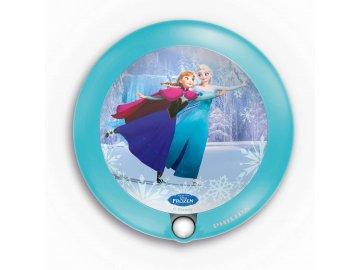 PHILIPS Disney 71765/08/16 noční LED světýlko se senzorem Frozen 1x0,06W 2700K