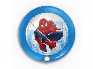 PHILIPS 71765/40/16 noční LED světýlko se senzorem Spiderman 1x0,06W 2700K