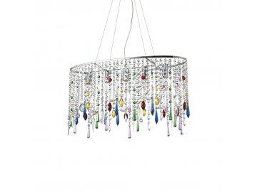 IDEAL LUX 105277 závěsný lustr Rain Color SP5 5x40W E14