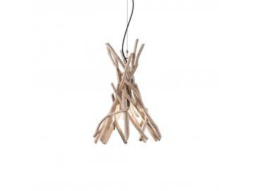 IDEAL LUX 129600 závěsný lustr Driftwood SP1 1x60W E27