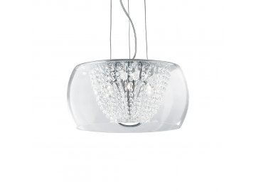 IDEAL LUX 133881 závěsný lustr Idea Lux Audi 61 SP8 8x40W G9