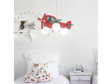 Dětský závěsný lustr Ideal LUx Avion-1 SP3 136318