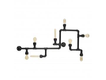 IDEAL LUX 136714 nástěnné svítidlo Plumber PL8 8x42W E27
